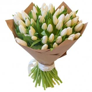 Тюльпаны белые (за шт)